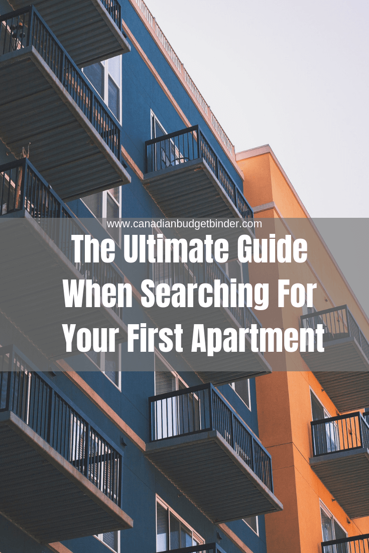 The Ultimate Guide When Searching For Your First Apartment