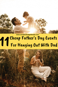 Cheap Father's day actvities