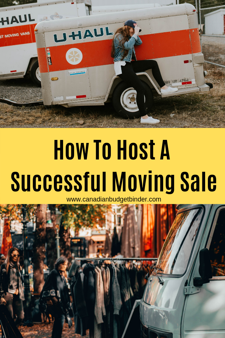 Moving Sale Tips