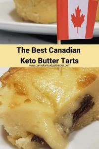 keto butter tarts