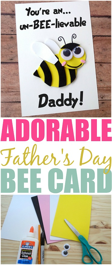 oure-An-Un-BEE-lievable-Daddy-DIY Card