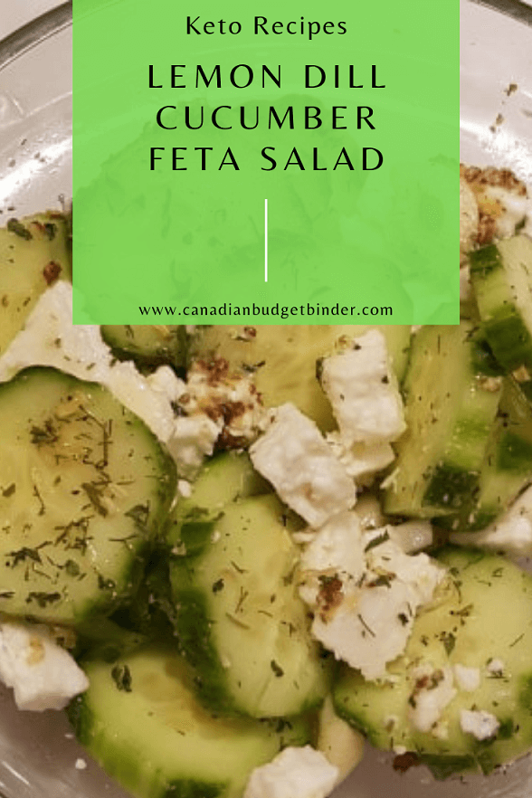 emon dill cucumber salad with feta 2