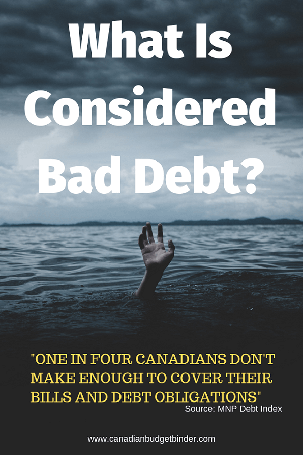 What Is Considered Bad Debt? : May 2019 Budget Update