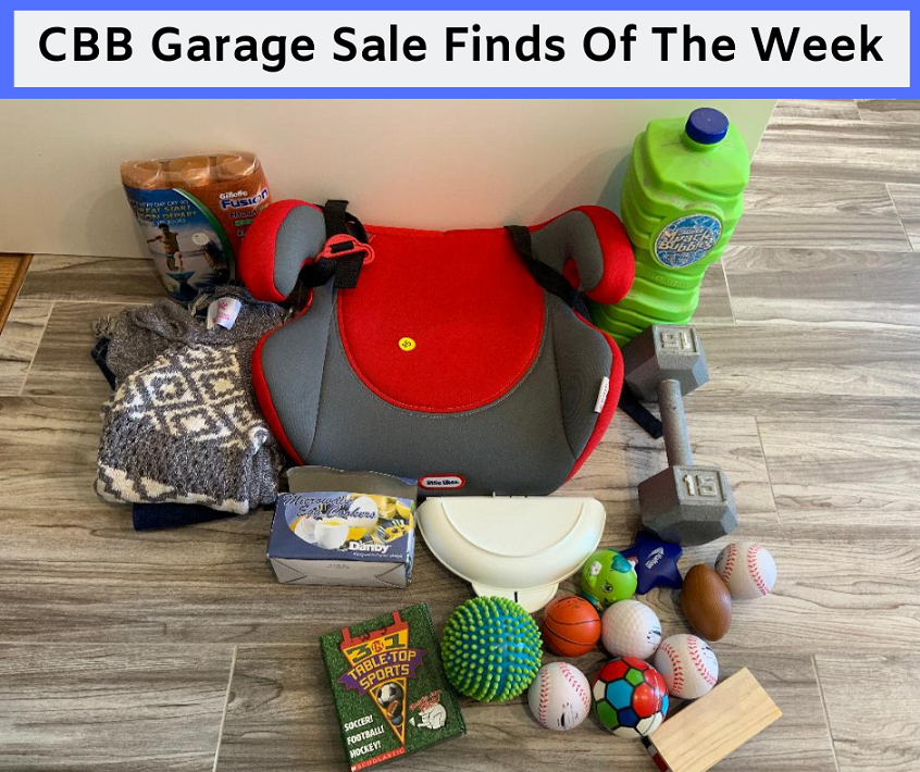 CBB Garage Sale Finds Of The Week