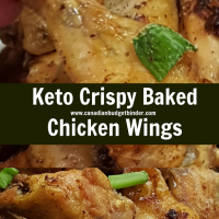 Keto Crispy Baked Chicken Wings-6