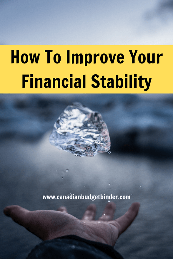 How To Improve Your Financial Stability