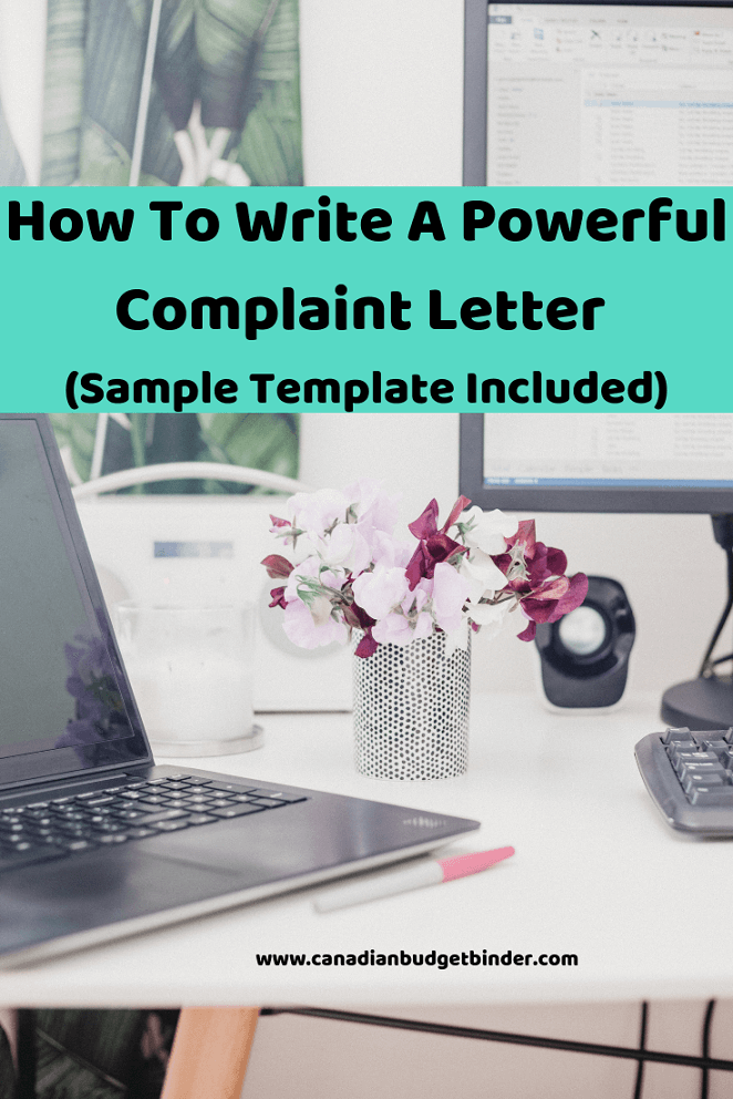 How To Write A Powerful Complaint Letter (Sample Letter)