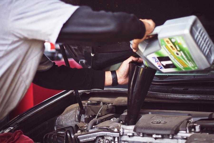 vehicle oil change