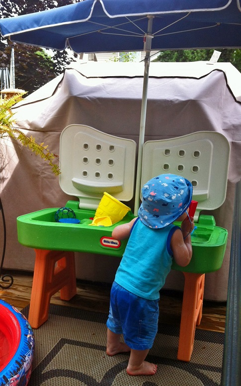 water table water play activities