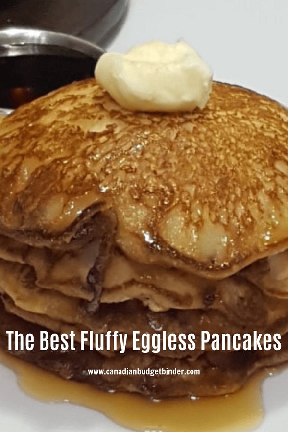 How To Make Easy Fluffy Eggless Pancakes