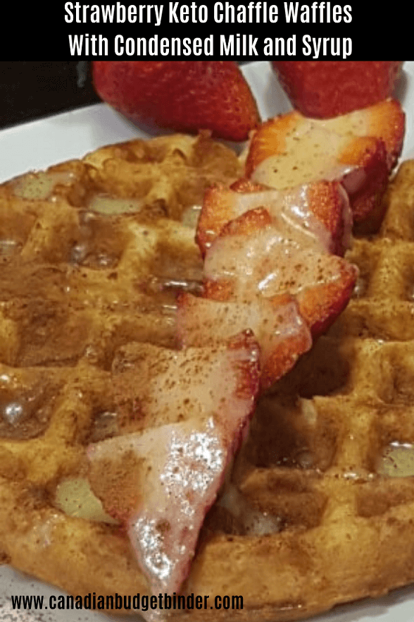 Strawberry Chaffle