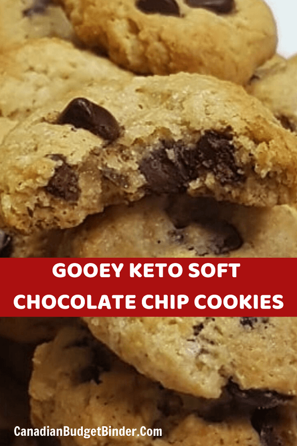 Keto Soft Chocolate Chip Cookies