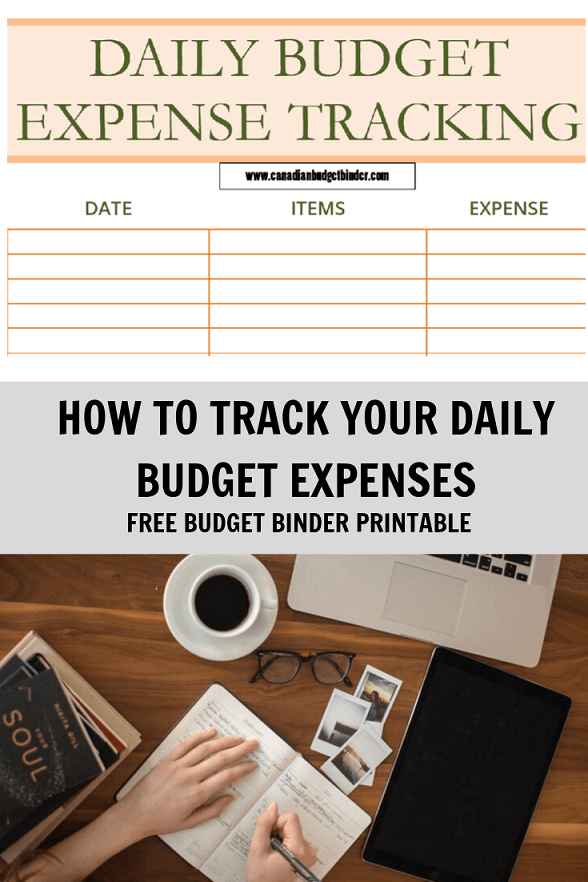 How To Track Daily Budget Expenses (Free Printable) : August 2019 Budget Update