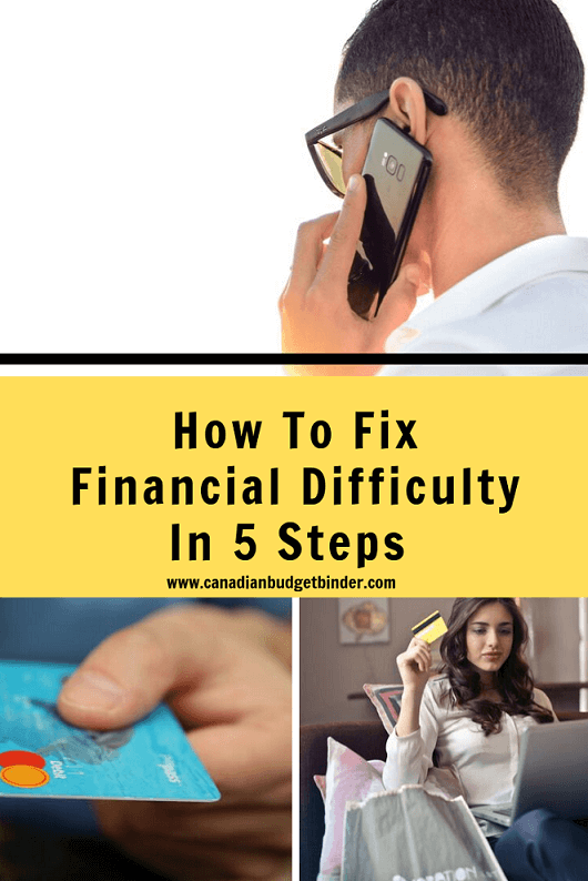 How To Fix Financial Difficulty In 5 Steps