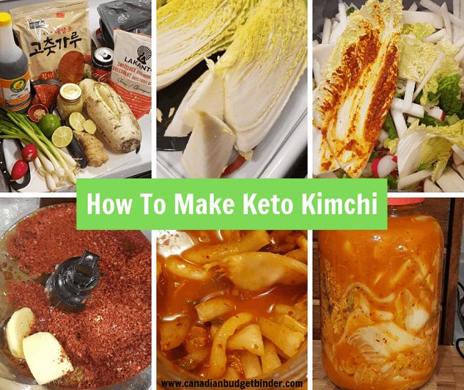 keto kimchi