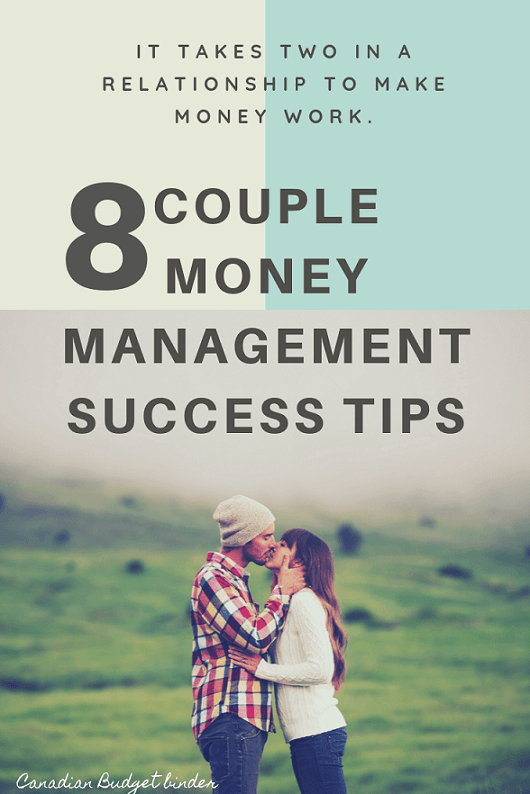 8 Couple Money Management Success Tips