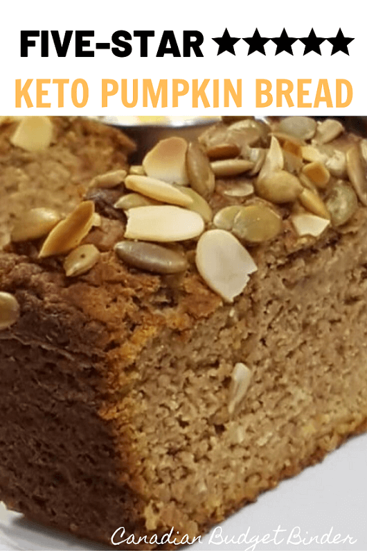 Easy Keto Pumpkin Bread A sugar-free, gluten-free Keto pumpkin bread is so moist and tastes like a slice of pumpkin pie.
