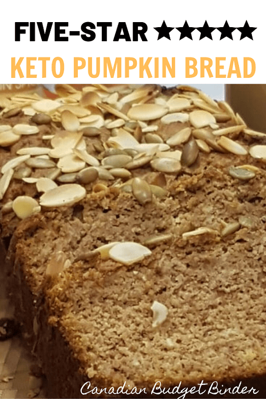 Quick Keto Pumpkin Bread