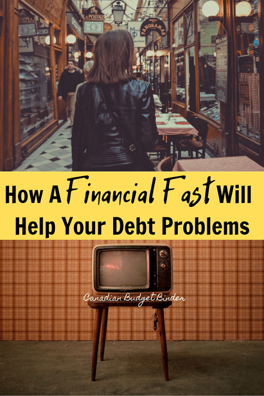 How A Financial Fast Will Help Your Debt Problems