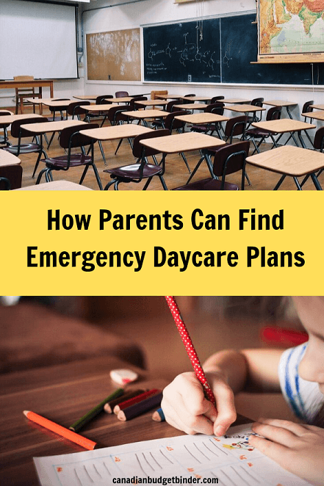 How Parents Can Find Emergency Daycare Plans
