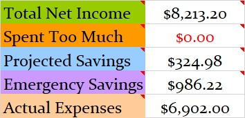 Monthly Net Income