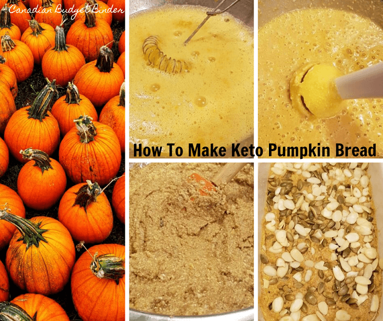 Keto Pumpkin Bread Ingredients