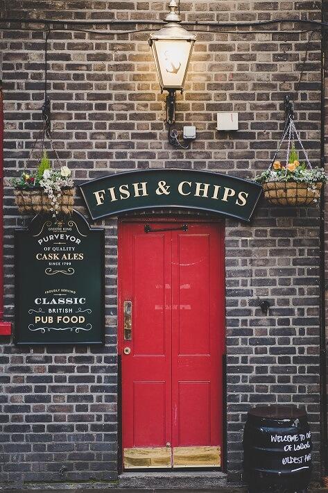 British Pub Door