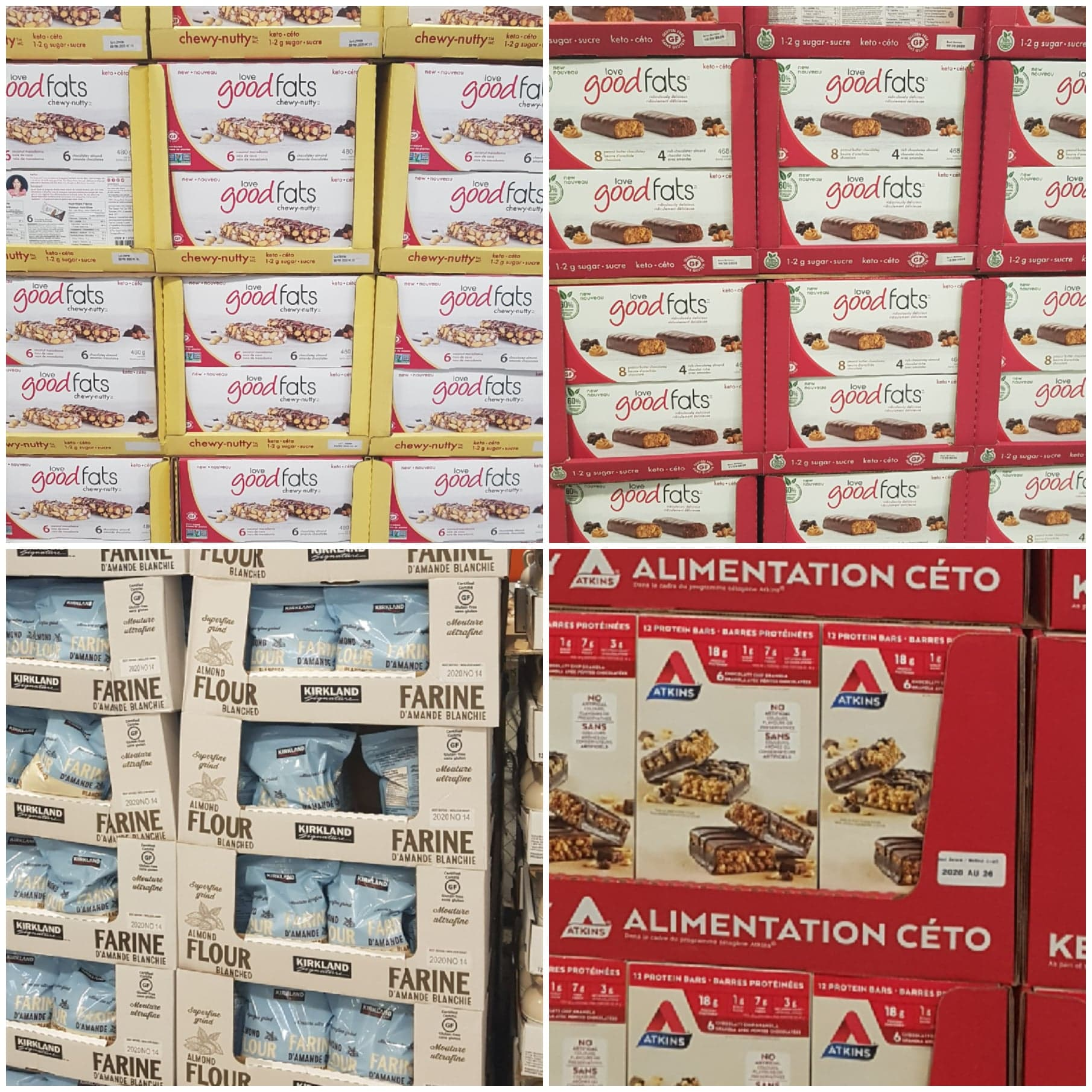 Costco Canada Keto Snacks