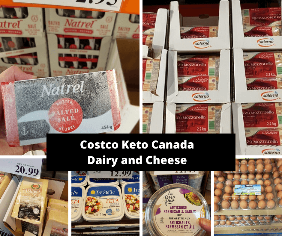 Costco Keto Canada Dairy and Cheese 2