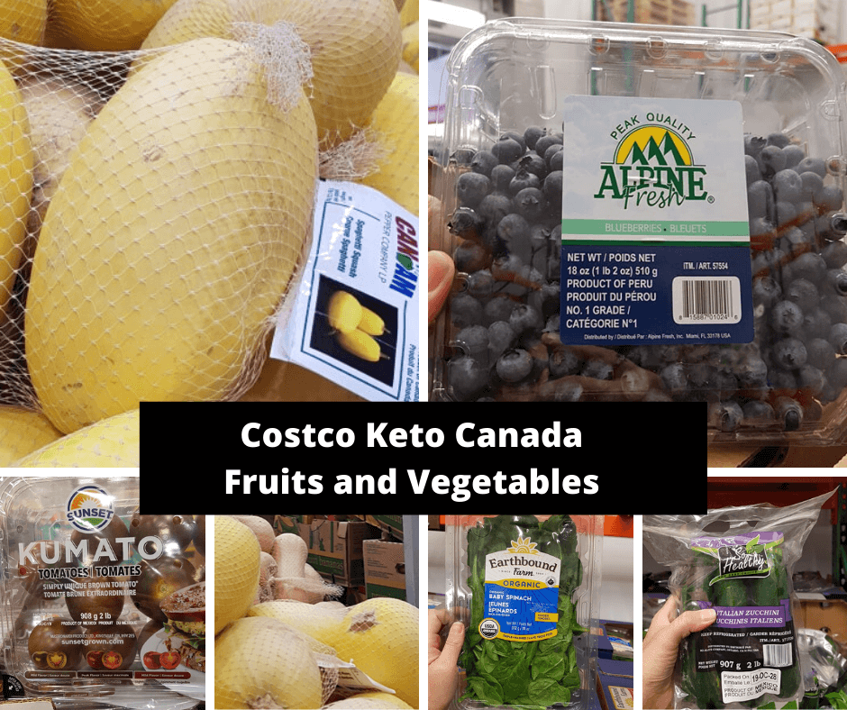 Costco Keto Canada Fruits and Vegetables 2