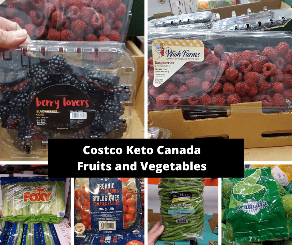 Costco Keto Canada Fruits and Vegetables 3