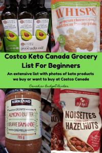 Keto Costco Canada Grocery