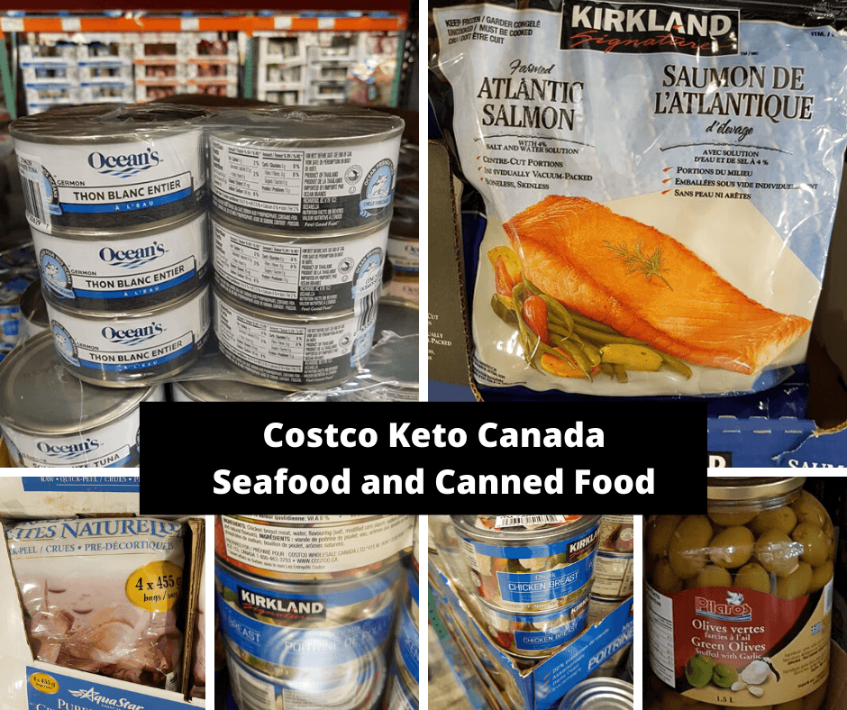 Costco Keto Canada Seafood and Canned Food