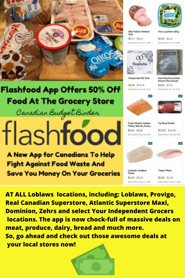 Flashfood App Loblaws