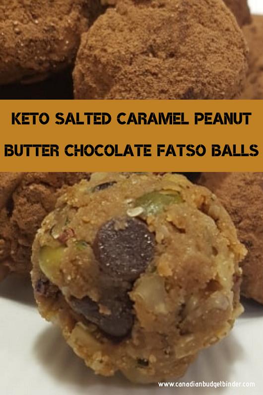 Peanut Butter Fatso Balls
