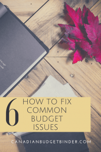budget problems