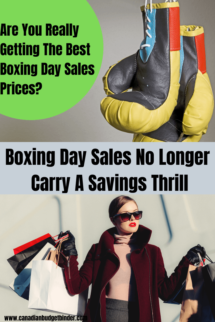 Boxing Day Sales Canada