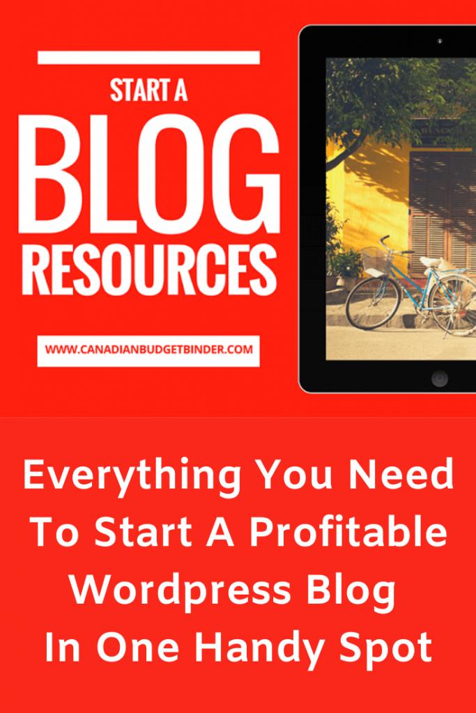 Wordpress Blog Resources