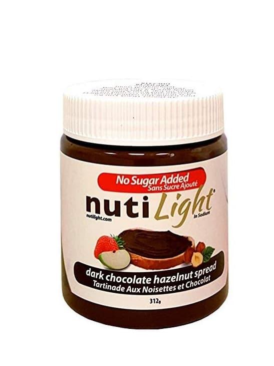 Nuti Light Dark Chocolate Hazelnut Spread