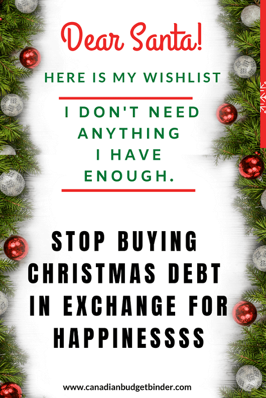 Stop Buying Christmas Debt In Exchange For Happiness : The Saturday Weekend Review #293