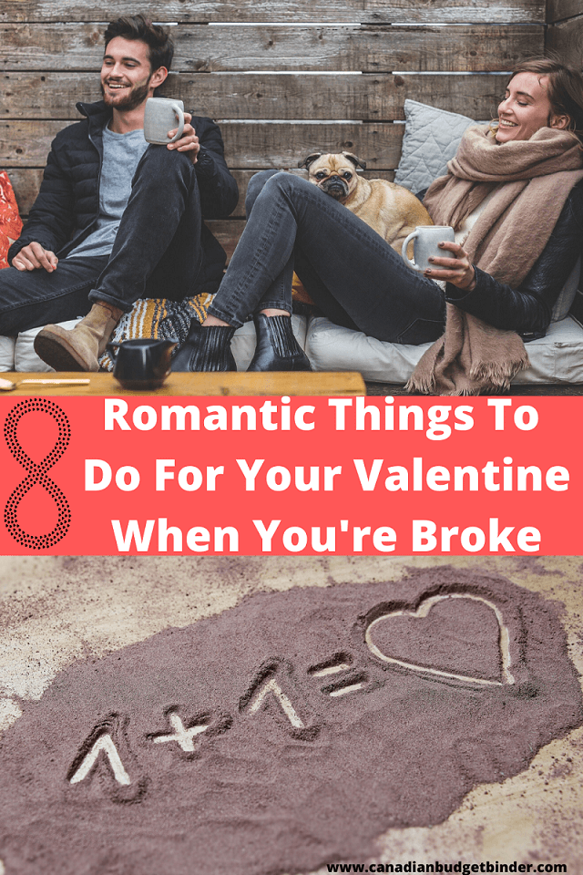 8 Romantic Ideas For Your Valentine When You're Broke