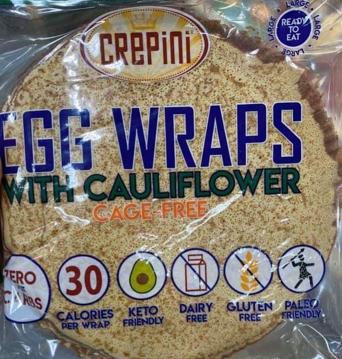 Egg Wraps with Cauliflower Costco Canada