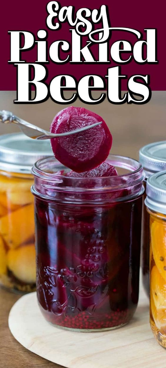 Red Pickled Beets