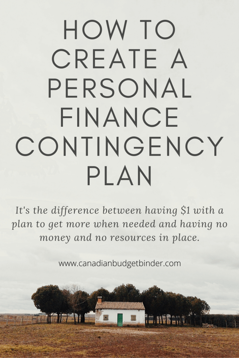 How To Create A Personal Finance Contingency Plan
