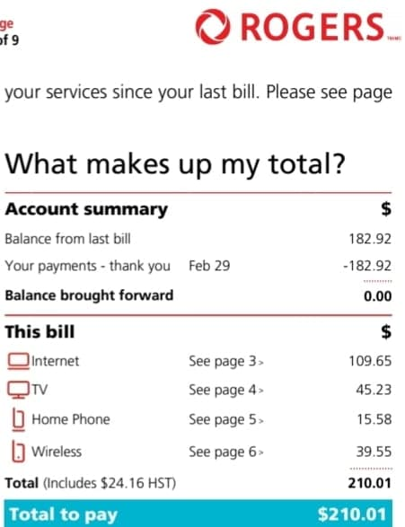 How To Get A Deal With Rogers Communications Canadian Budget Binder