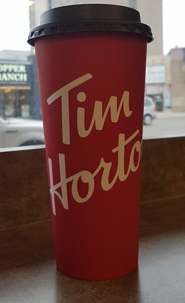 Extra-Large Tim Hortons Coffee