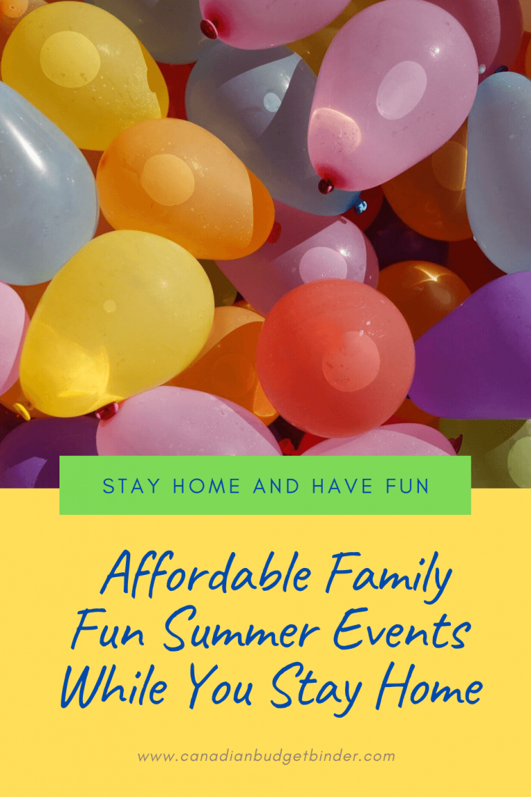 Affordable Family Fun Summer Events While You Stay Home : The Saturday Weekend Review #301