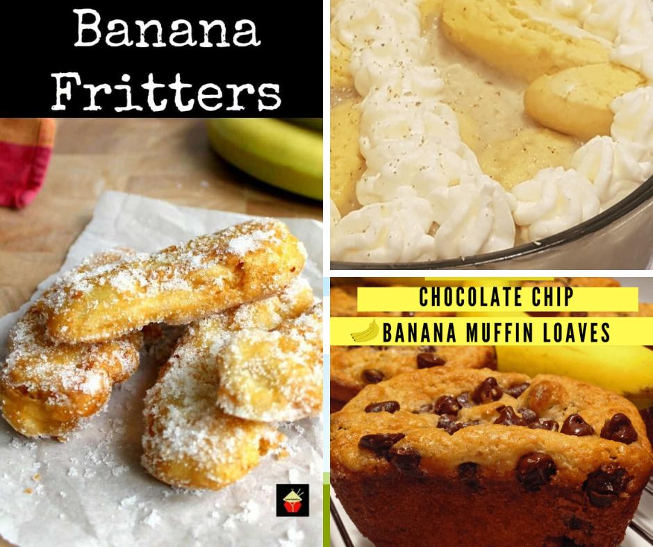 Brown banana recipes