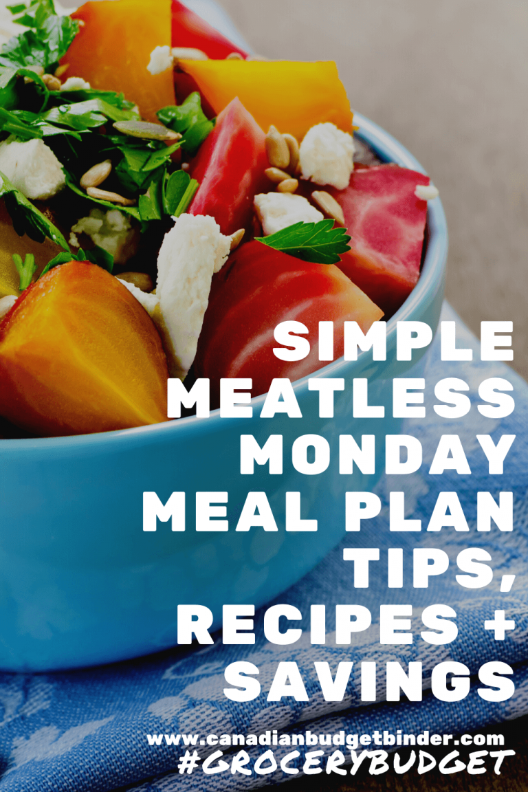 Simple Meatless Monday Meal Tips, Recipes And Savings