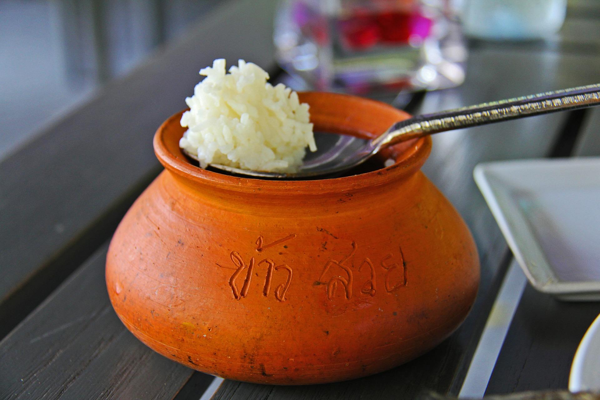 leftover white rice